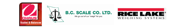 Ohaus | BC Scale Co Ltd | Rice Lake Weighing Systems