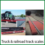 truck & railroad track scales