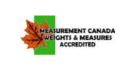 Measurement Canada Weights & Measure Accredited