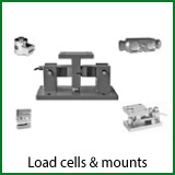 load cells & mounts