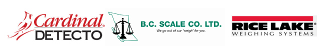 Cardinal Detecto | BC Scale Co Ltd | Rice Lake Weighing Systems